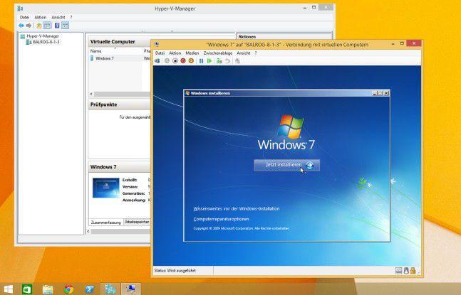 Der Hyper-V ist ideal zur Virtualisierung anderer Windows-Systeme auf der Windows-10-Plattform