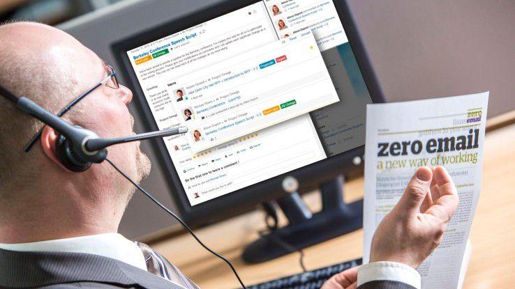 Kann Unify mit dem Produkt Circuit das Projekt Zero E-Mail von Atos erweitern?
