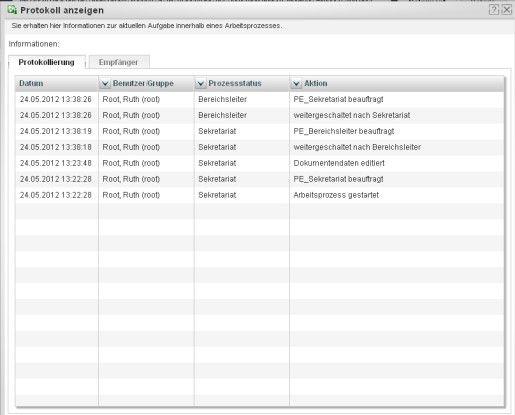 Die Postverwaltungssoftware im Sekretariat protokolliert revisionssicher alle Prozesse rund um die Postverarbeitung
