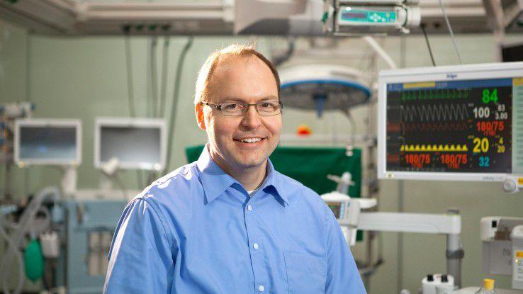 """Carsten Albrecht, Dräger: """"Programmieren und Testen sind die wichtigsten Aufgaben in unserem Team."""""""