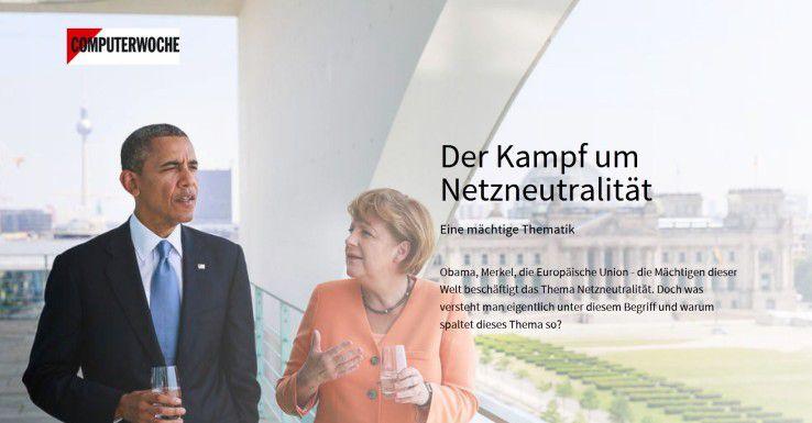 """Alles rund um das Thema Netzneutralität erfahren Sie in unserem multimedialen Themenspecial """"Mehr zum Thema Netzneutralität""""."""