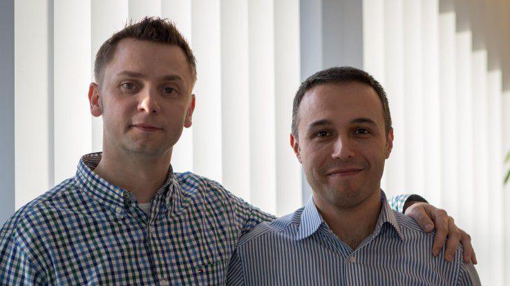Hans Sieder und Yavut Tosun (rechts): Das gegenseitige Vertrauen der Freunde wirkt wie ein Katalysator.
