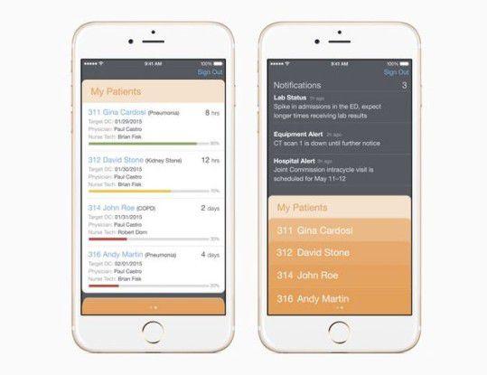Mit der neuen Runde an MobileFirst-Apps nehmen sich Apple und IBM diesmal unter anderem das Gesundheitswesen zur Brust
