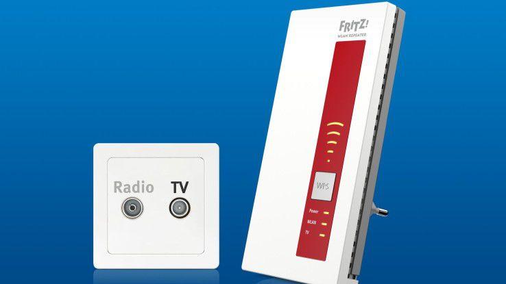 Der AVM Fritz!WLAN Repeater DVB-C im Test. Wir sagen Ihnen, was das Gerät kann.