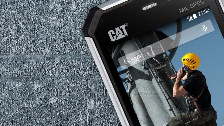 Das CAT S50.