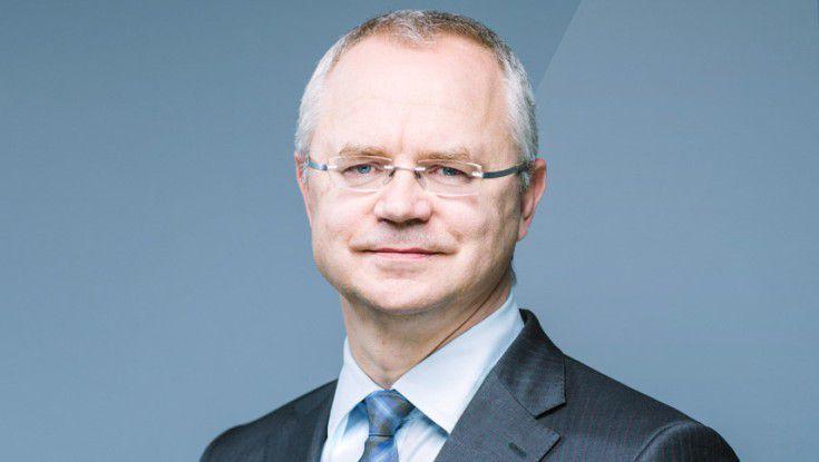 Stolz auf ein gelungenes Event: Voice-Präsident Thomas Endres.