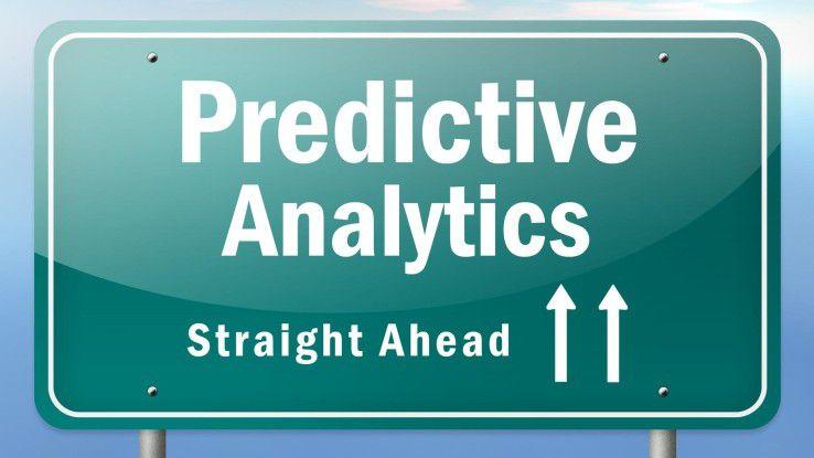Anders als hier dargestellt, ist der Weg zu Predictive Analytics nicht unbedingt geradlinig.