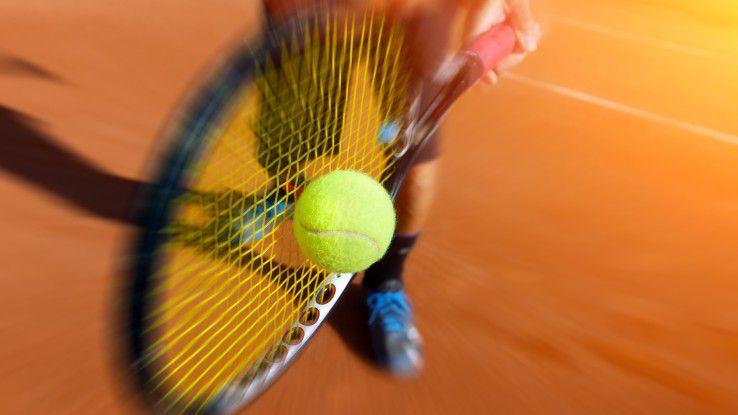 Der effizienteste Spieler gewinnt - wie im Tennis, so auch im Außendienst.