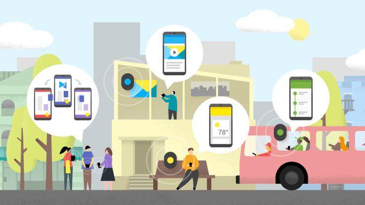 Das Potenzial von Beacons ist bei weitem noch nicht ausgeschöpft - Google will mit Eddystone nachhelfen.