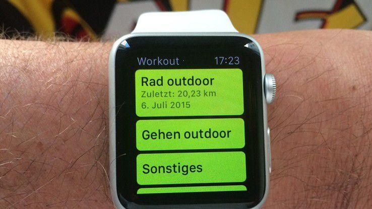 Von der AOK Nordost wird der Kauf einer Apple Watch bezuschusst.