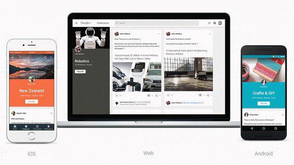 Auf Interessen fokussiert: Google+