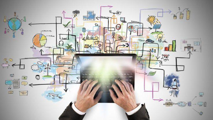 Der CIO-Spagat: Aktelle Probleme beheben und gleichzeitig kreativ das Unternehmen unterstützen.