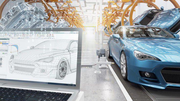 Maserati nutzt den Digital Twin zur Produktion seiner Fahrzeuge.