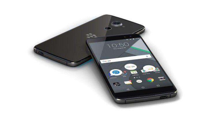 Das Blackberry DTEK 60 muss sich vor der Konkurrenz nicht verstecken.