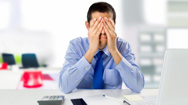 Laut der SOLCOM Marktstudie fühlen sich viele Freiberufler gestresst.