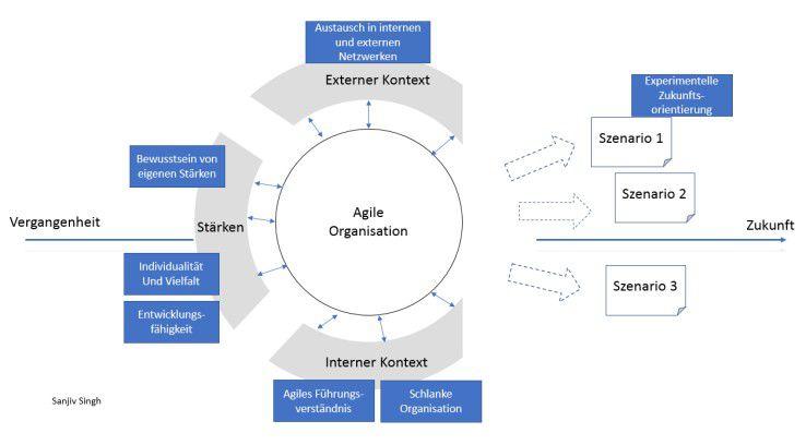 Abbildung 1: Merkmale agiler Organisationen
