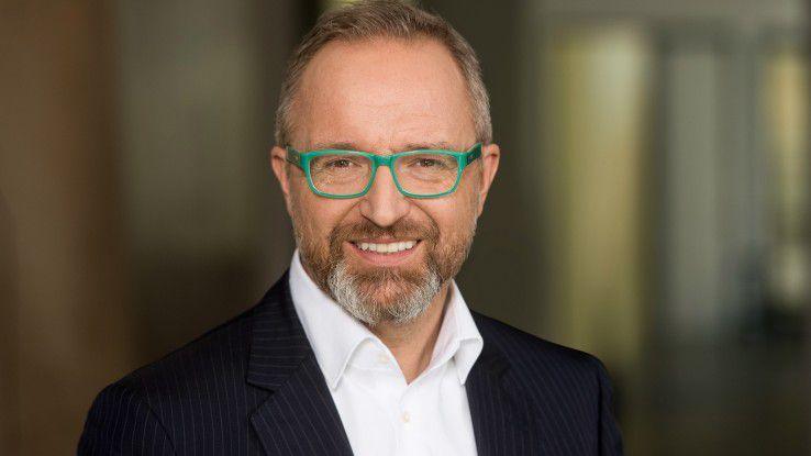 """Markus Sontheimer, CIO DB Schenker: """"Bis 2020 werden wir alle Bereiche der IT im Zielzustand haben."""""""