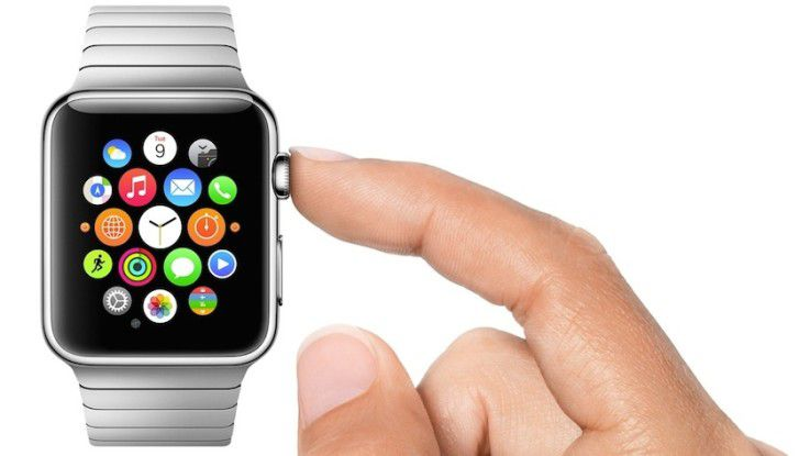 Die neue Smartwatch Apple Watch.