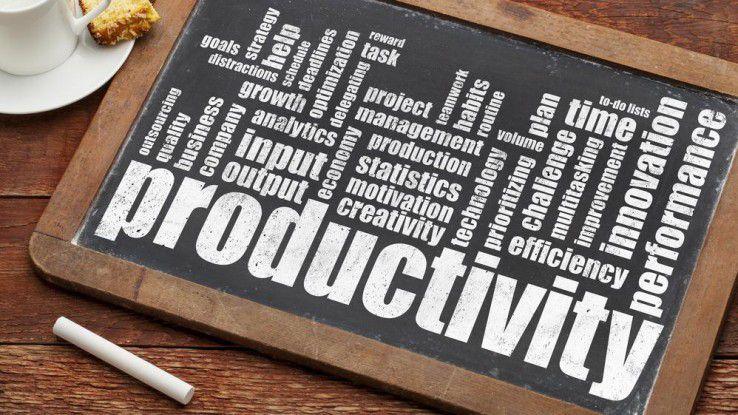 Im Zeitalter der Digitalisierung sorgen neue Technologien nicht immer für mehr Produktivität.