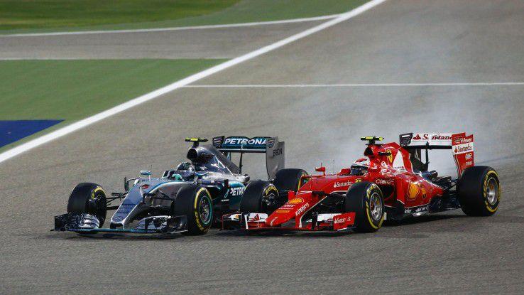 Gläserner Zweikampf um Sekundenbruchteile: Fahrfehler fördert die IT in der Formel 1 gnadenlos zu Tage.
