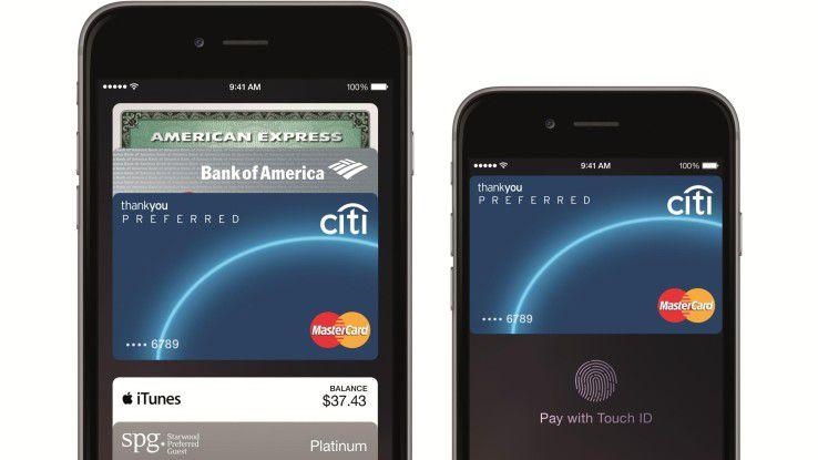 Ab sofort kann man auch in Deutschland mit dem Smartphone via Apple Pay bezahlen.