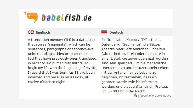 Italienisch in deutsch übersetzen kostenlos