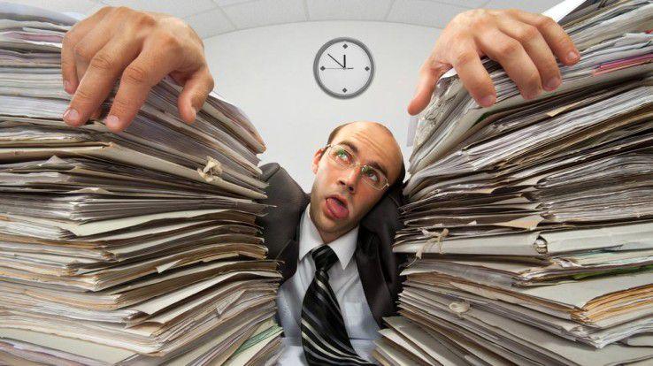 Ein elektronischer Rechnungs-Workflow macht das Scannen von Papierdokumenten überflüssig.