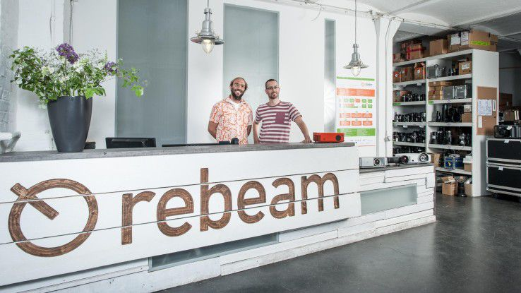 Das Unternehmen rebeam ist dank seines umweltfreundlichen und ressourcenschonenden Geschäftsmodells für den Deutschen Nachhaltigkeitspreis 2015 nominiert.