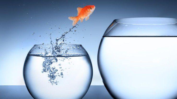 Nicht jedes Unternehmen ist aktuell bereit, den Sprung in Richtung Digitale Transformation zu wagen.