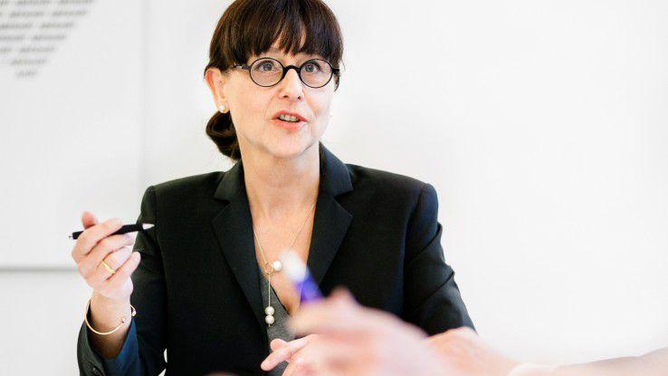 """Dagmar Schimansky-Geier, Geschäftsführerin der Personalberatung 1a Zukunft: """"Stellen Sie sich ein Fragenset zusammen, das Sie """"aus der Tasche ziehen"""" können. Dann erkennen Sie schnell, ob ein weiterer Kontakt lohnt."""""""