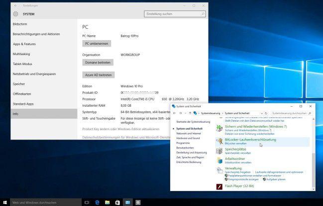 Die Version von Windows 10, die in vielen kleinen und mittleren Firmen zum Einsatz kommen wird: Windows 10 Pro.