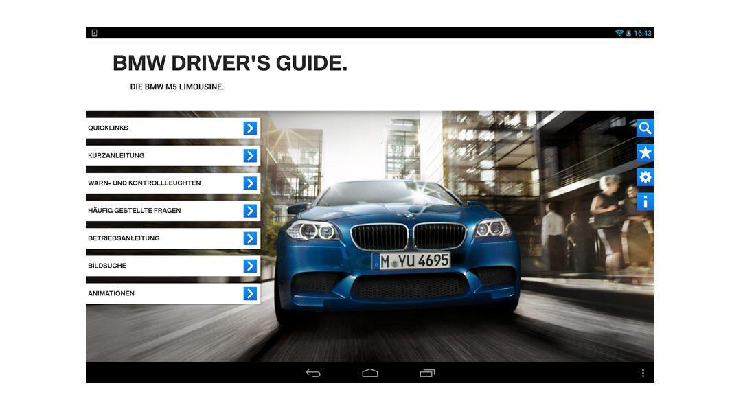 bmw, audi, mercedes & co.: die apps der autohersteller: bmw drivers