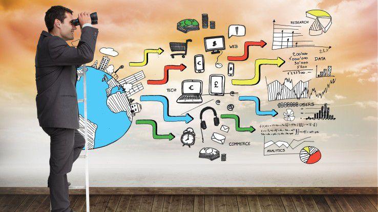 Bei vielen mittelständischen Unternehmen steckt die Vorbereitung auf die eigene digitale Zukunft noch in den Kinderschuhen.