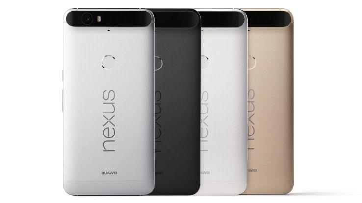 Das Nexus 6P ist jetzt auch mit 128 GB Speicher erhältlich.
