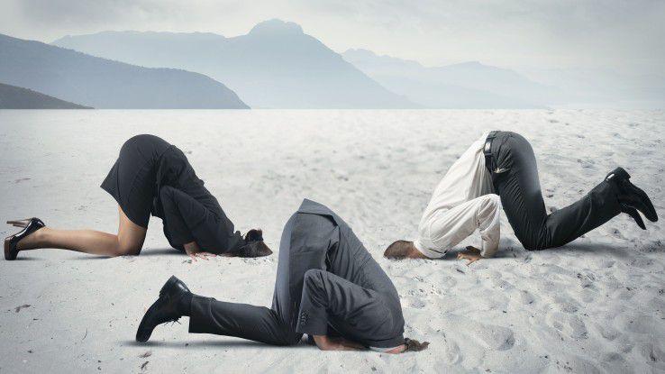 Stecken deutsche Unternehmen den Kopf in den Sand, wenn es um Datenschutz geht?