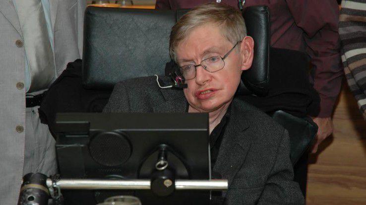 Stephen Hawking sieht die Potenziale der AI. Er warnt aber auch vor ungewünschten Folgen.