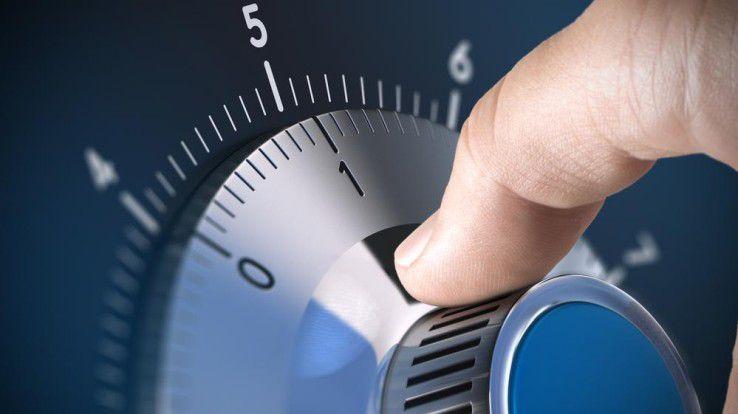 Sensible Daten mit Daten-Tresoren unter Verschluss halten.