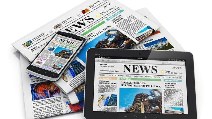 Der deutsche Zeitungsmarkt wird zunehmend digitaler. Das klassische Print-Produkt stirbt trotzdem nicht aus.