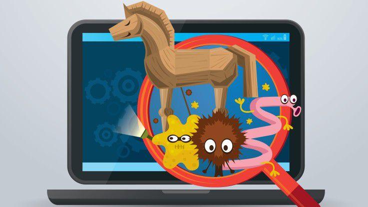 Ob Virus, Wurm, Trojaner, sonstige Malware oder Adware - gerade auf Windows-Systemen müssen Sie bei Webdownloads höllisch aufpassen, dass Sie sich nicht solche Störenfriede einfangen. Wer viel Freeware lädt, ist vor allem von Adware betroffen.