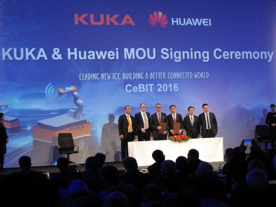 Huawei und Kuka