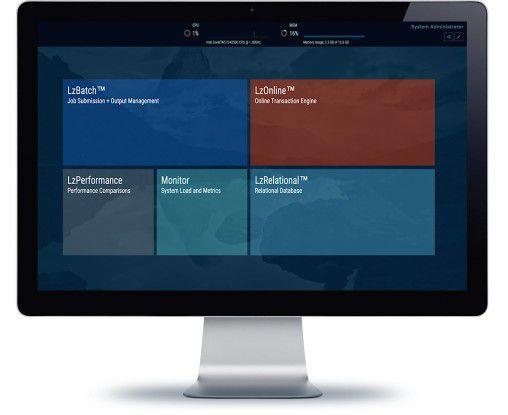 Der Software Defined Mainframe lässt sich zum Beispiel als Cloud-Lösung direkt von einer internetfähigen Konsole aus bedienen.