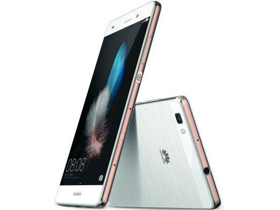 Der Nachfolger des Huawei P8 Lite (Foto) soll überraschned gut ausgestattet sein.