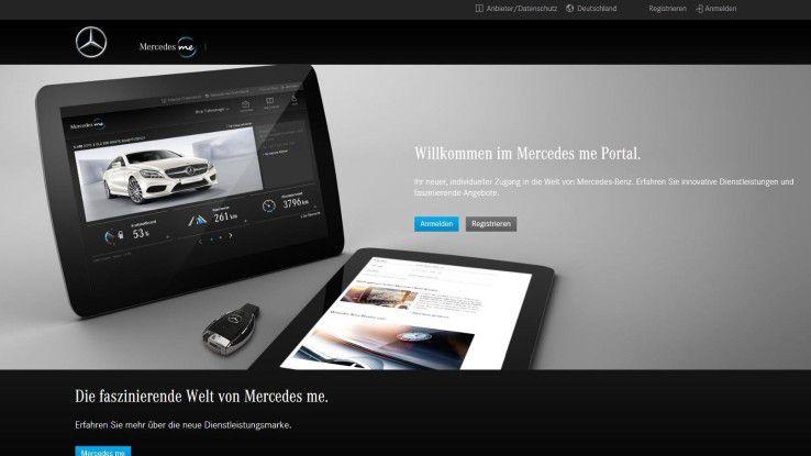 Das Backend für die Mercedes Connect-Dienste kommt von T-Systems.
