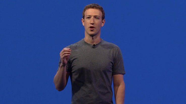 Facebook-Chef und -Gründer Mark Zuckerberg