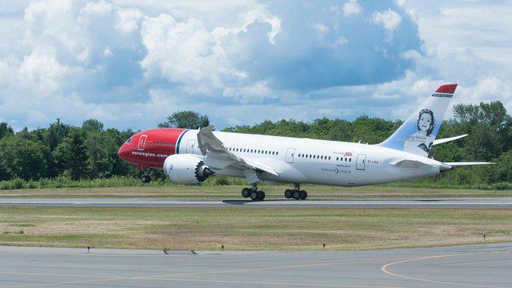Eine Boeing 787 erzeugt pro Flug etwa ein halbes Terabyte an Daten - mit IoT kommen also Unmengen auf die IT zu.