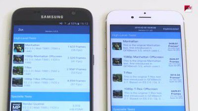 Galaxy S7 vs. iPhone 6s, SAP-Business-One-Tipps und mehr: Videos und Tutorials der Woche