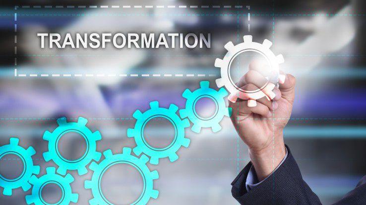 Unternehmenskultur und Software nehmen bei der der digitalen Transformation eine Schlüsselstellung ein.