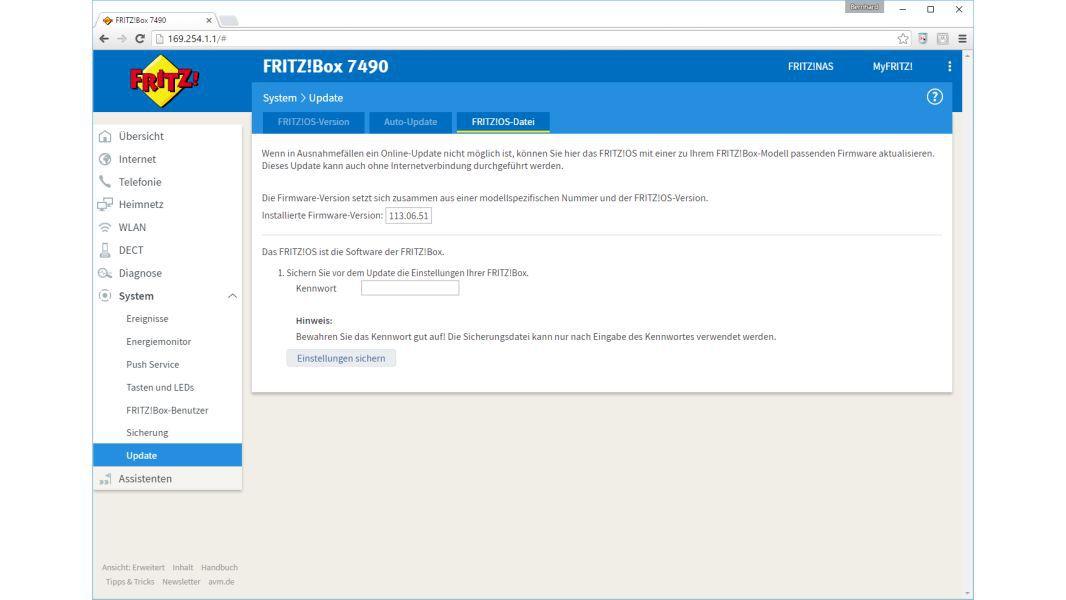 Fritzbox 7490 Firmware 6.83 Download