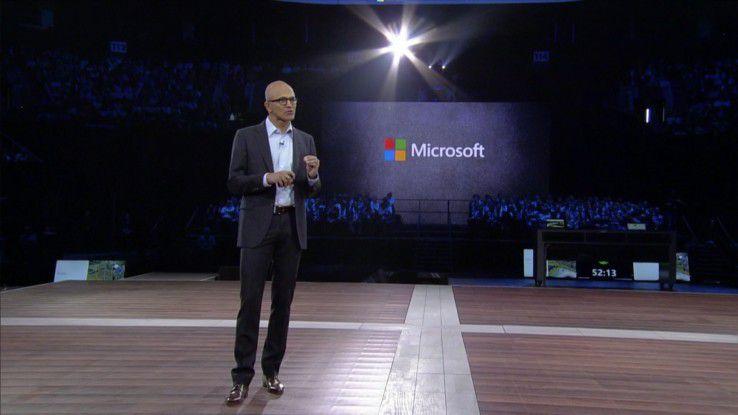 Aus Sicht von Microsoft-Chef Satya Nadella bietet die digitale Transformation für alle neue Geschäfts-Chancen, für Microsoft wie für die Partner.
