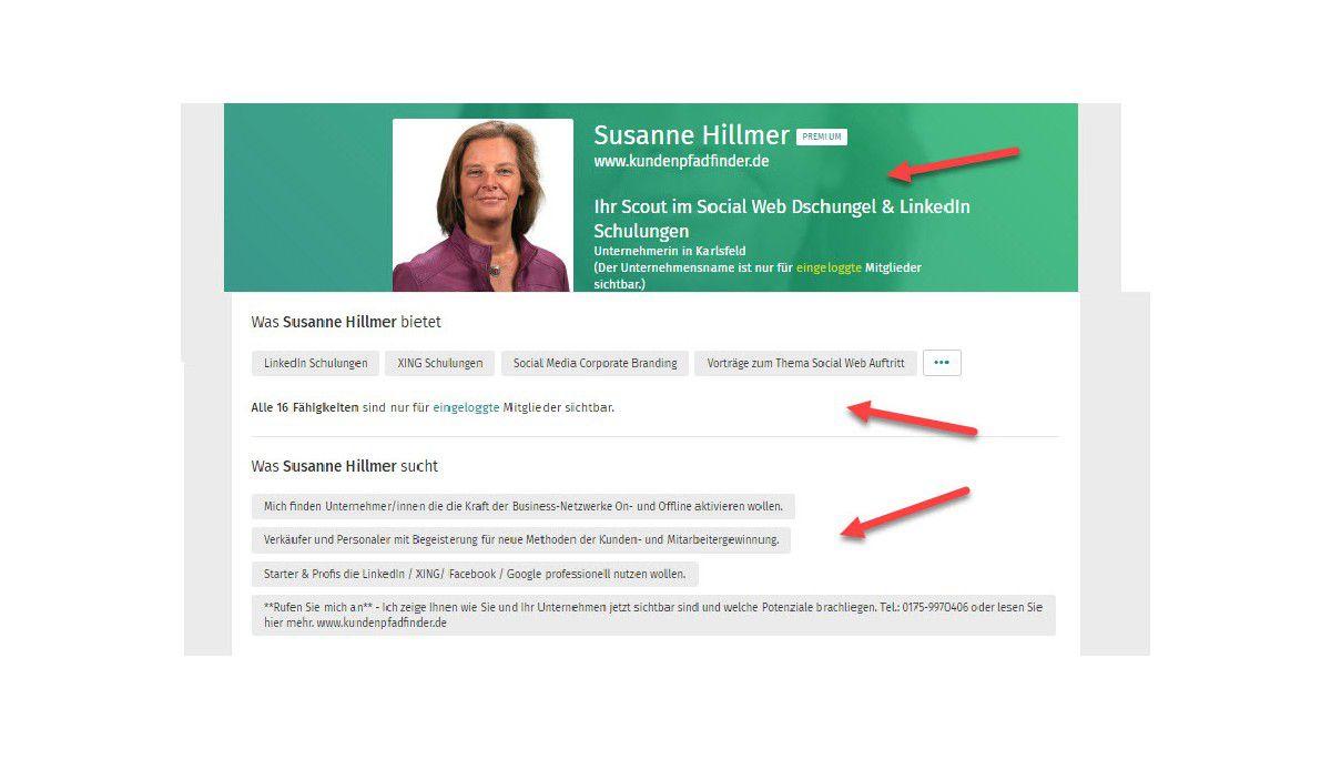 XING und LinkedIn: So bauen Sie Ihr professionelles Social Media Profil -  computerwoche.de